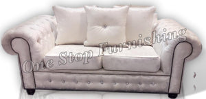 Rio Chesterfield Crushed Velvet sofa