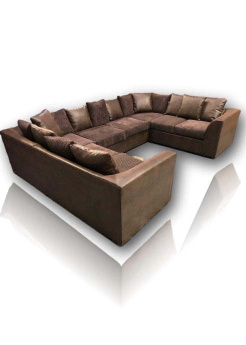 Dilino U-Shape Sofa 8 Seater