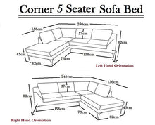 Load image into Gallery viewer, Dylan Corner Sofa Bed