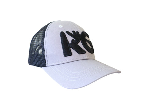 KG Black/Grey Snapback Hat!