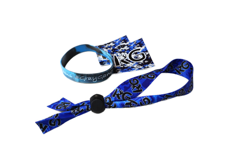 KG AquaCamo Adjustable Cloth Bracelet Care Package!