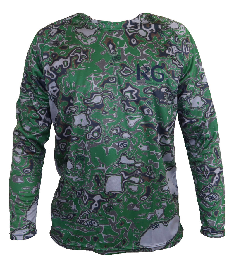 KG Green Camo Long Sleeve Shirt