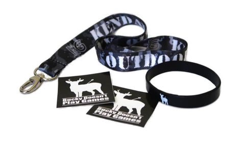 KG Urban Camo Lanyard Care Package
