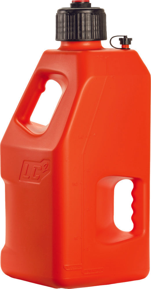LC2 UTILITY CONTAINER RED 5 GALLON