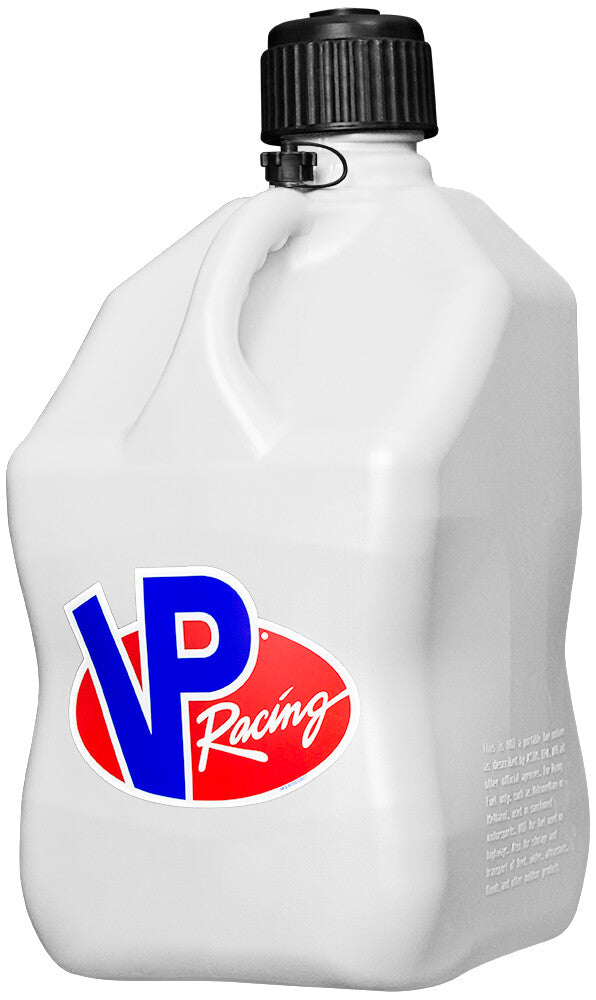 VP RACING VP MOTORSPORTS CONTAINER 5 GALLON WHITE