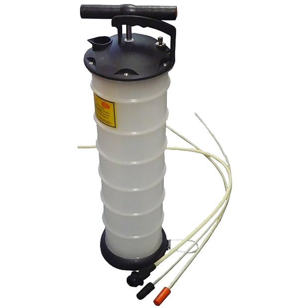 Handpump with container
