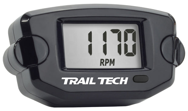 TRAIL TECH TTO TACH HOUR METER BLACK