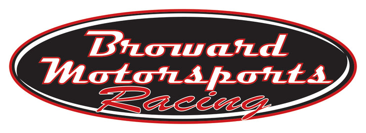"Broward Motorsports Racing 6"" Stickers"