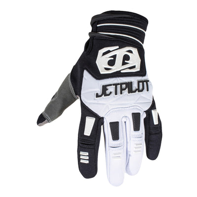 JETPILOT MATRIX FULL FINGER GLOVE Blk/Wht