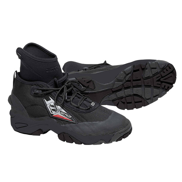 JET PILOT FLIGHT LACE UP-RACE BOOT BLACK