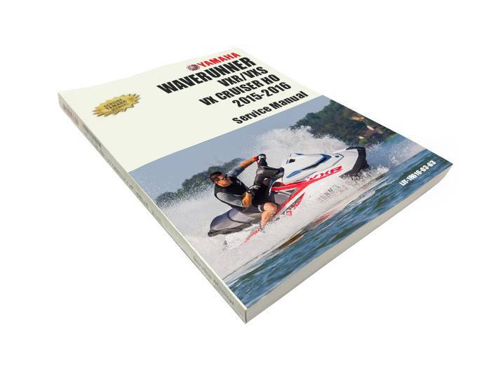 YAMAHA VXR, VXS, VX CRUISER HO (1.8L) GENUINE SERVICE MANUAL