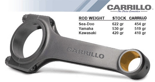 Carrillo Heavy Duty Rod Set Yamaha 1.8L