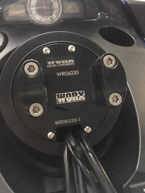 WORX Yamaha FX 12+ Drop in Steering stem