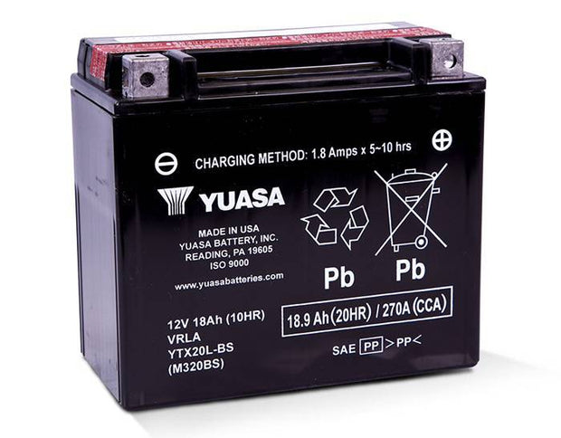 Yuasa Lead Acid Battery YTX20L-BS