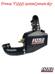 Fizzle Y1000 Yamaha Intercooler Kit w/ TiAL BOV, or HKS BOV