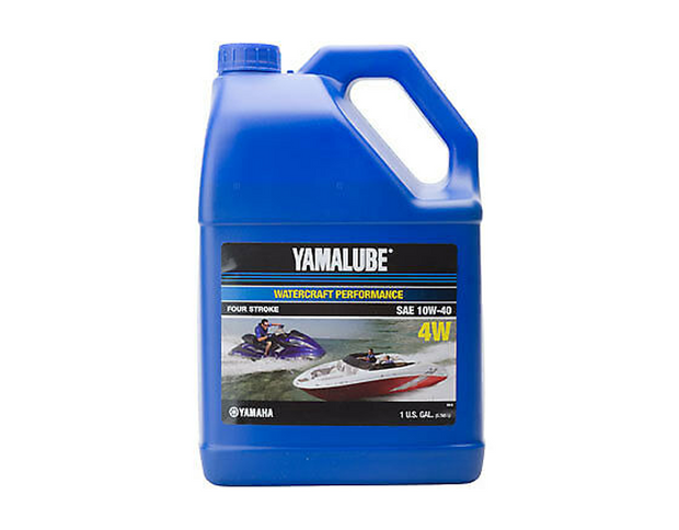 Yamalube 10W-40 Mineral 4W Watercraft Engine Oil - 1 GAL
