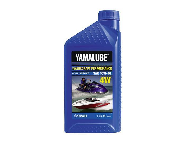Yamalube 10W-40 Mineral 4W Watercraft Engine Oil - 32 OZ
