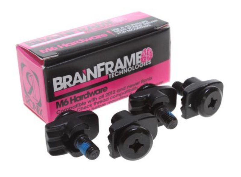 M6 Brain Frame Boot Hardware (Set of 4)