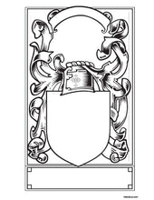 Load image into Gallery viewer, Build your Own Coat of Arms file PDF - Instant download
