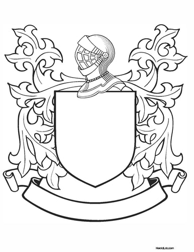 Build your Own Coat of Arms file PDF - Instant download