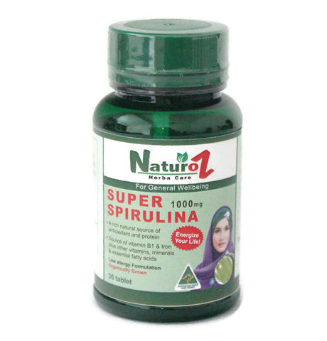 Naturoz Super Spirulina 30 tablet