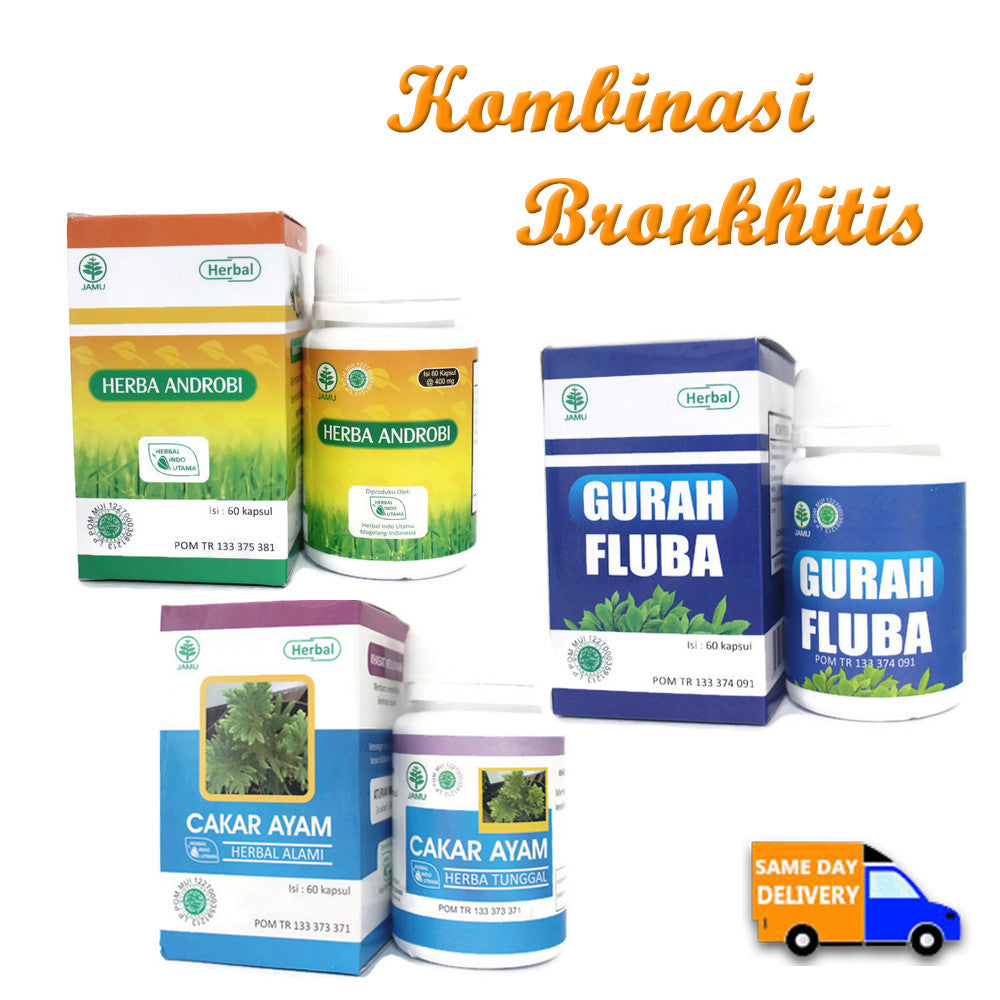 Herbal Kombinasi Bronkhitis