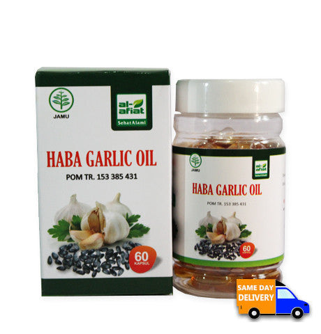 Haba Garlic Oil 60 Kapsul