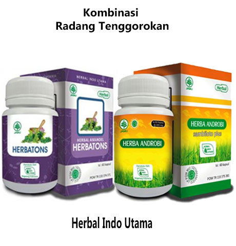 Herbal Kombinasi Radang Tenggorokan