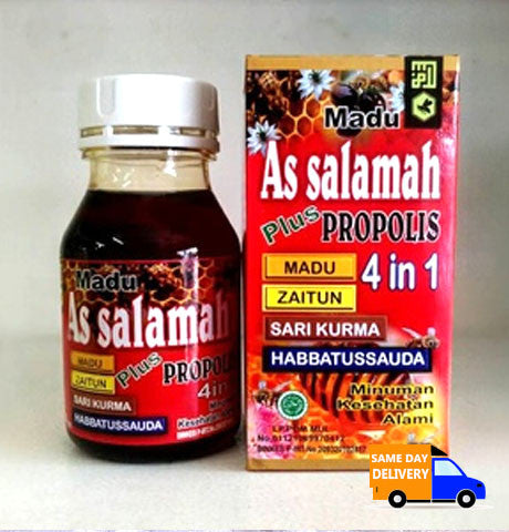 Madu As Salamah Plus Propolis 4in1