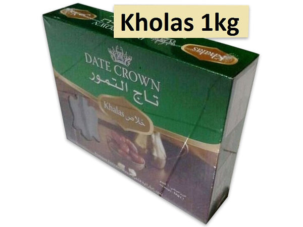 Dates Crown kholas 1 kg