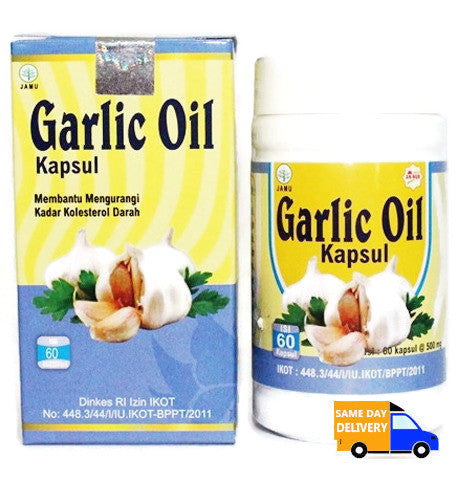 Garlic Oil 60 Kapsul