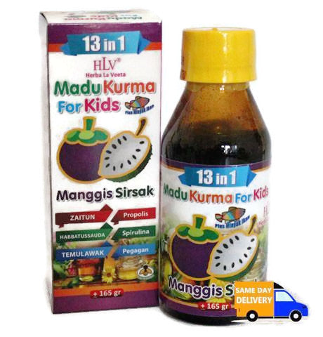 hlv madu kurma for kids