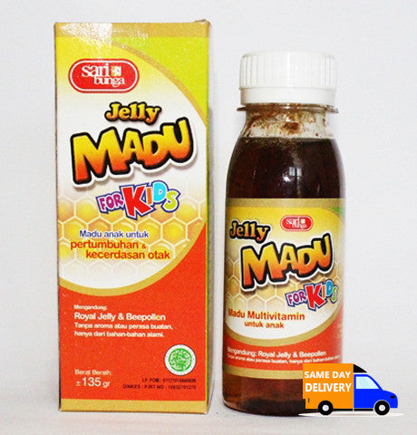 Jelly Madu For Kids