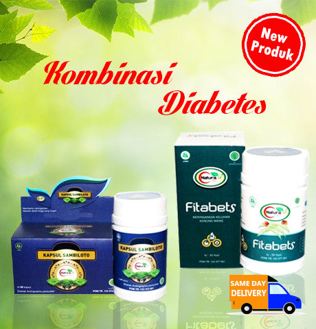 Herbal Kombinasi Penyakit Diabetes Naturafit