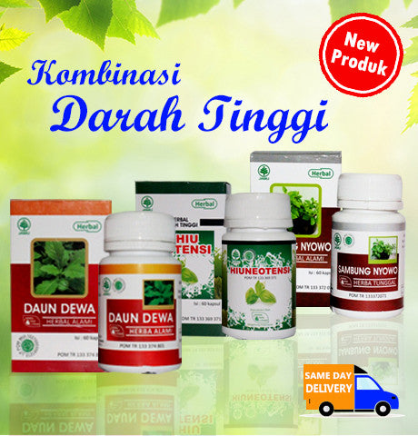Herbal Kombinasi Darah Tinggi