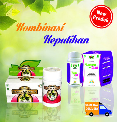 Herbal Kombinasi Keputihan naturafit