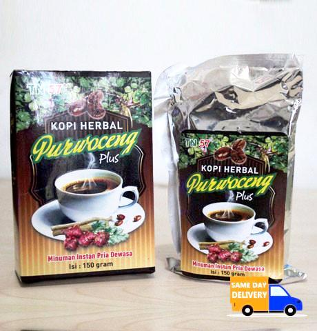 Kopi Herbal Purwoceng Plus