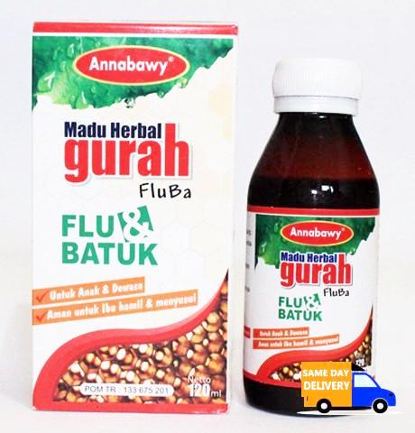 Madu Herbal Gurah Fluba Annabawy 120ml
