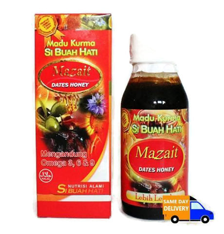Mazait Dates Honey Si Buah Hati 150gr