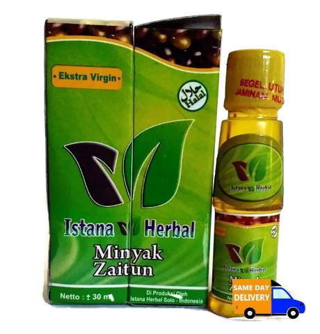 Minyak Zaitun Istana Herbal 30 Ml