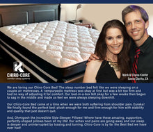 Load image into Gallery viewer, Dr. K Chiro-Core Comfort Dual Core Mattress + Adjustable Base