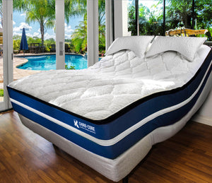 Dr. K Chiro-Core Comfort Dual Core Mattress + Adjustable Base