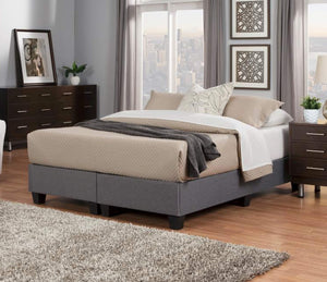 Chiro-Core Modular Upholstered Platform Bed Foundation