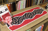 "Candy Cane ""Curve Appeal"" Table Runner"