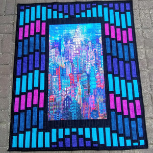Cityscape Wall Hanging