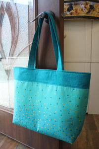 Teal Ombre Everyday Tote