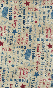 Northcott Stars and Stripes 23461-12