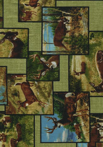 Quilting Treasures Whitetail Ridge 24087-h