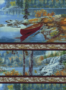 Quilting Treasures Lakeside Camping 45533-b