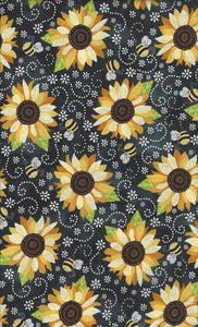 Timeless Treasures You Are My Sunshine c5345-black
